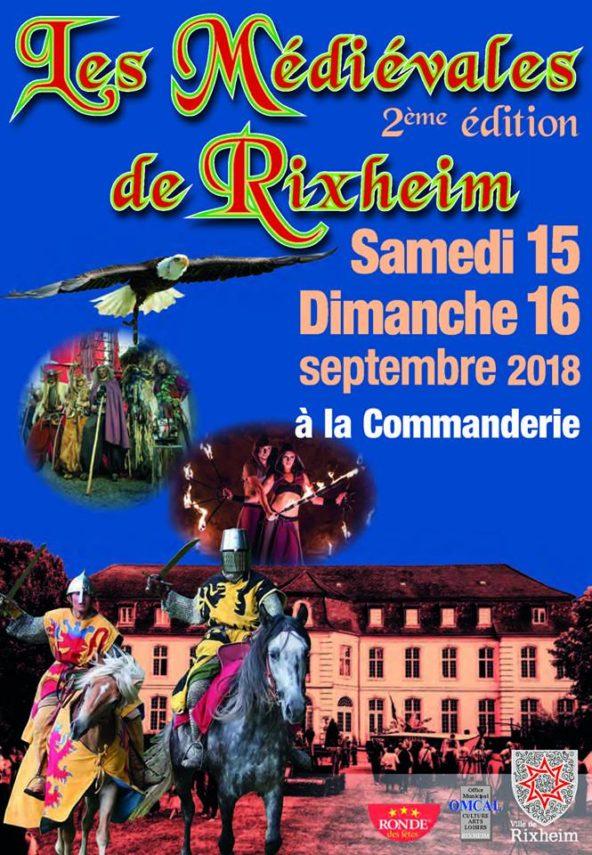 Fête médiévale de Rixheim 15 & 16 Septembre 2018
